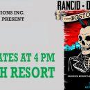 "Rancid & Dropkick Murphys ""From Boston to Berkeley Tour"""