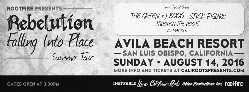 "Rebelution ""Falling into Place"" Summer Tour 2016"