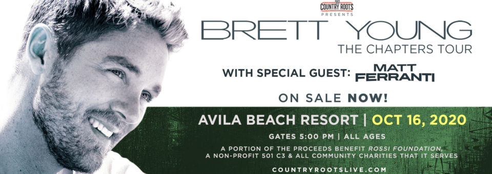 "Brett Young ""The Chapters Tour"""