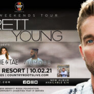 """Brett Young """"The Chapters Tour"""" with Maddie & Tae and Filmore"""