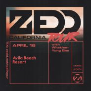 ZEDD California Tour