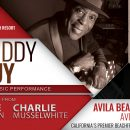 Buddy Guy, Jimmie Vaughan and Charlie Musselwhite at the Beach in Avila!