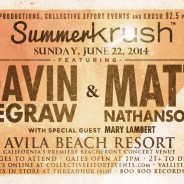 Summer Krush with Gavin DeGraw and Matt Nathanson